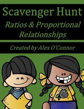 6th Grade Math Scavenger Hunt: Ratios & Proportional Relat