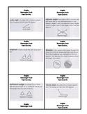 Math Scavenger Hunt Task Cards