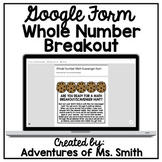 Math Scavenger Hunt: Whole Numbers - Perfect for Distance