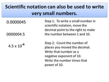 Math: Scientific Notation