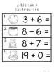 Addition and Subtraction 0-20 Scoot - St. Paddy's Day Theme