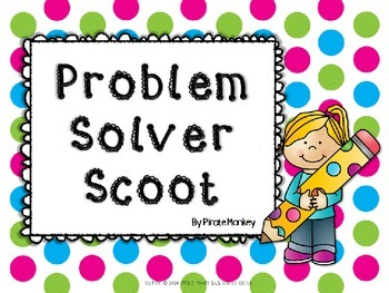Math Scoot Addition and Subtraction Word Problems by Pirat