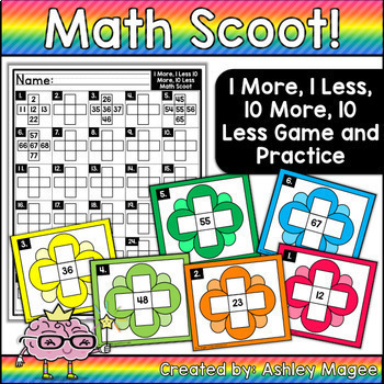 Math Scoot Bundle! Currently incudes 7 math scoot games!
