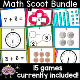 Math Scoot Bundle! Addition, Subtraction, Time, Place Valu