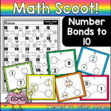 Math Scoot! Number Bonds to 10