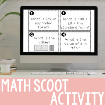 Math Scoot (Numbers & Operations in Base-10)