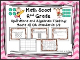 Math Scoot - Operations and Algebraic Thinking - 2nd grade