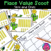 Math Scoot - Place Value - Tens and Ones
