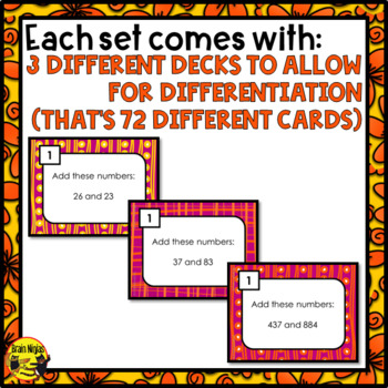 Math Scoot Task Cards Bundle Grade 3