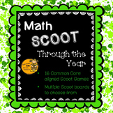 Math Scoot Through the Year