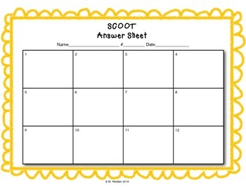 Math Scoot for 2nd Grade {2-Digit and 3-Digit Addition}