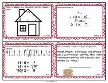 Math Scoot for 2nd Grade {Basic Facts & Operations}