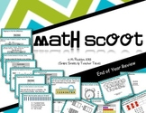 Math Scoot for 2nd Grade {End of Year Review}