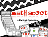 Math Scoot for 2nd Grade {Even & Odd Numbers, Place Value, Skip Counting}