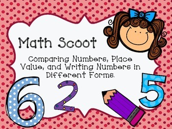 Math Scoot for Place Value
