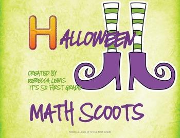 Halloween Math Scoots  (Task Cards)