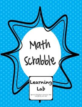 Math Scrabble