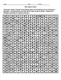 Math Search Puzzle