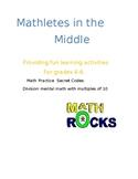 Math Secret Code Activity: Division Mental Math/Multiples of 10