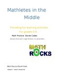 Math Secret Code Activity/ Division facts and 1-digit divi