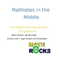 Math Secret Code Activity: Division with 1-digit divisors
