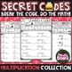 Fun Math Practice Bundle - Secret Codes