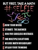 Math Selfie Poster
