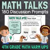 Math Sense - A Year of Daily Spiral Review Math Warm Ups for 4th Graders