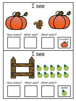 Sentence Building- Fall