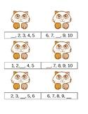 Math Sequence File Folder Game