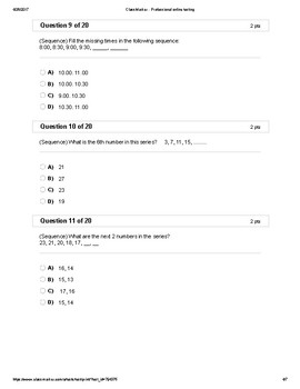 Math Sequences & Series