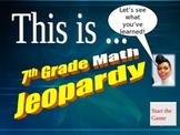 Math Seventh Grade Domains Review Jeorpady