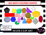 Math Shapes Clipart