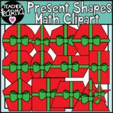 Math Shapes Clipart, Christmas Presents