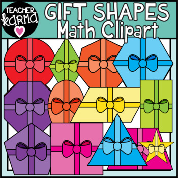 Math Shapes Clipart, Gifts