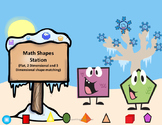 Math Shapes Station