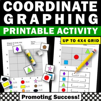 Coordinate Grid Worksheets Teachers Pay Teachers