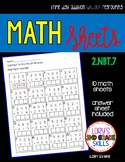 Math Sheets - Triple Digit Addition without Regrouping