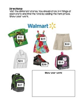 Math Shopping