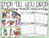 Math Shopping Ad Activity