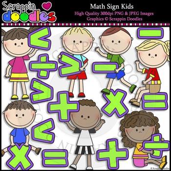 Math Sign Kids