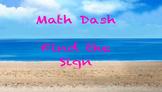 Math Signs Fluency