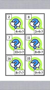 Math Simple Addition Game