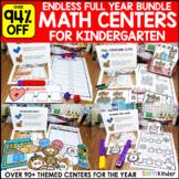 Math Simply Centers - Kindergarten Math Centers Endless Bundle