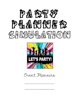 Math Simulation: PARTY PLANNER