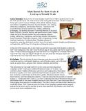 Math Sixth Grade Summer Work Math Packet