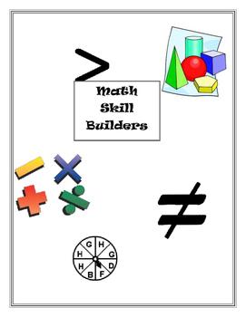 Math Skill Builders