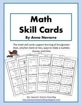 Math Skill Cards