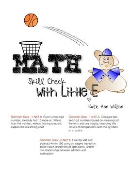 Math Skill Check with Little E