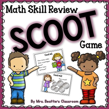Math Review Scoot Game